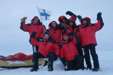 The Expedition is ready, destination North Pole.